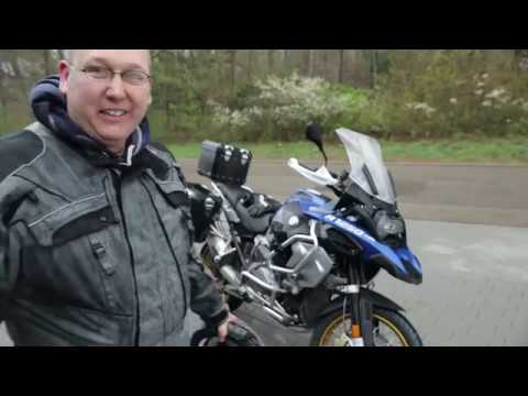Taking Delivery of the 2019 BMW R 1250 GS Adventure in the rain