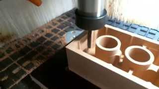 Holz Bauklotz CNC gefräst