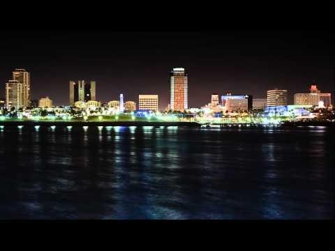 Timelapse: Long Beach Skyline