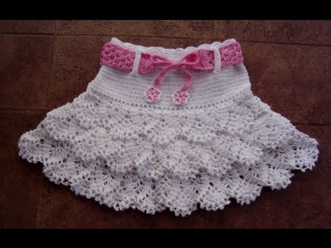 Crochet Skirt Youtube
