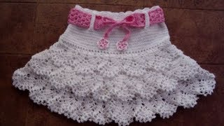 Repeat youtube video CROCHET SKIRT