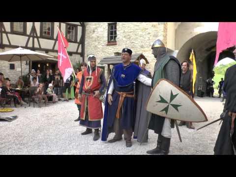 Belagerung und Sturm der Burg Katzenstein