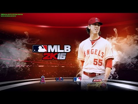 MLB 2K16 MOD LAA Tim Lincecum VS SF Madison Bumgarner