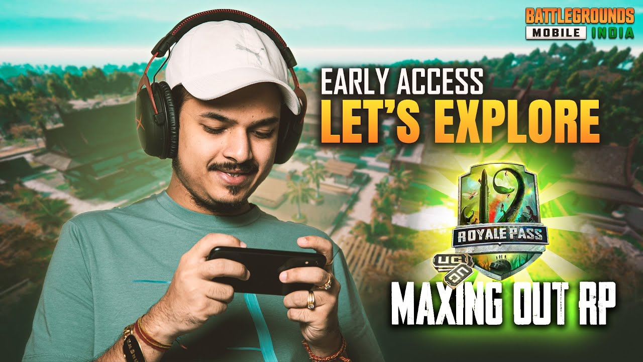 BGMI FIRST LOOK AND MAXING OUT RP 19 || BATTLE GROUNDS MOBILE INDIA IS HERE