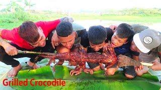 Hữu Bộ | Cá Sấu Nướng Siêu Cay | Grilled Crocodile
