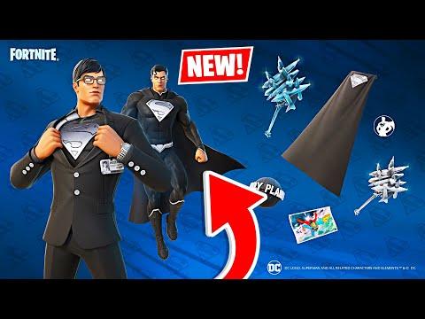 New SHADOW SUPERMAN Skin! Winning in Duos w/ My Girlfriend! (Fortnite)