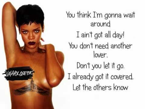 Rihanna - Jump (Lyrics On Screen, CDQ) [UNPITCHED]