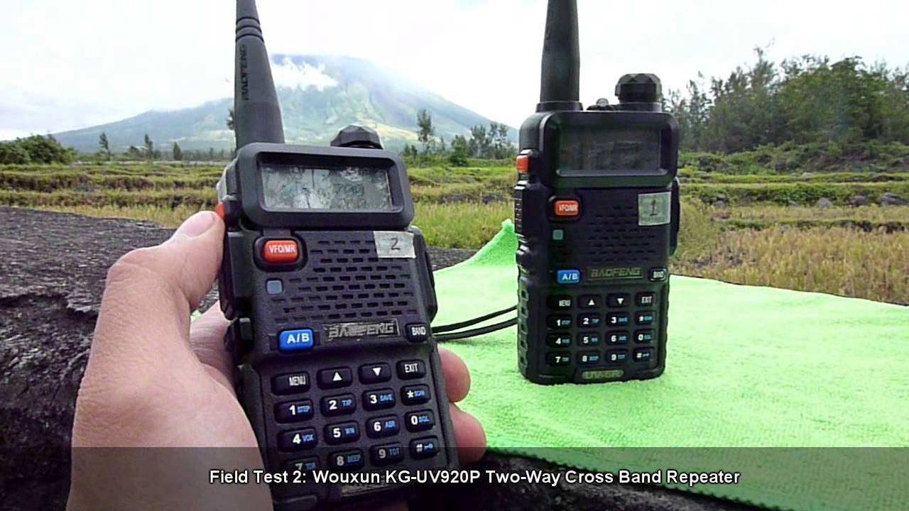 Field Test 2: KG-UV920P Two-Way Cross Band Repeater