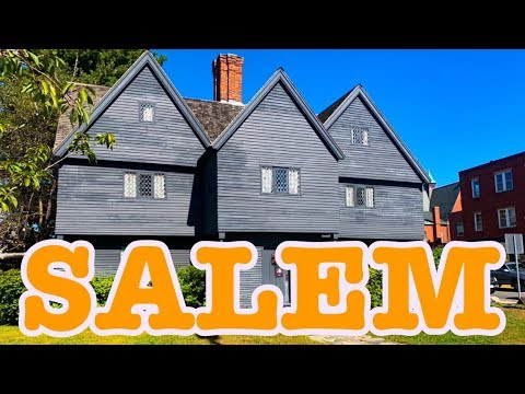 Salem Witch History Virtual Tour 2019