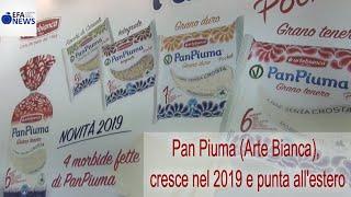 Pan Piuma (Arte Bianca), cresce nel 2019 e punta all'estero
