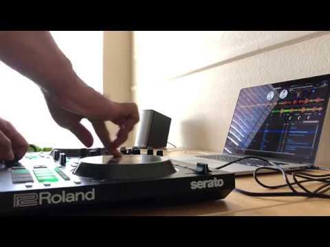 Practice mix on Roland DJ-202 / Serato