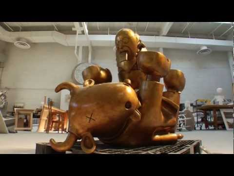 """Immigrant Family"" by Tom Otterness"