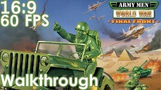 Army Men: World War - Final Front Widescreen Walkthrough