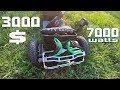Trampa Offroad SKateboard 2x 3500watts 3000$ First ride on BEAST