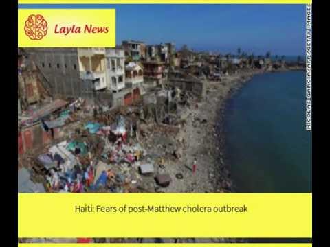 Haiti: Fears of post-Matthew cholera outbreak    By : CNN
