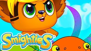Smighties - Flying Fish Whirlpool on a Blossom Day ! | Funny Cartoon Video | Cartoons for Kids