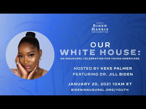 Our White House: An Inaugural Celebration for Young Americans hosted by Keke Palmer