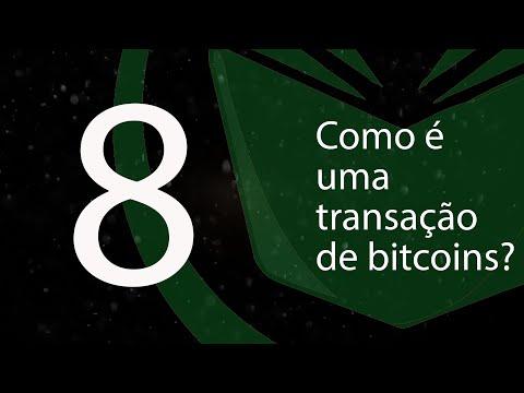 8. Como é uma transação de bitcoins? (BTCemPortugues)