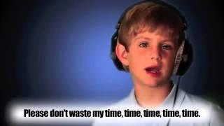 7 Year Old Raps Justin Bieber Eenie Meenie by MattyBRaps