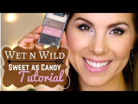 Wet N Wild Sweet As Candy MAKEUP TUTORIAL