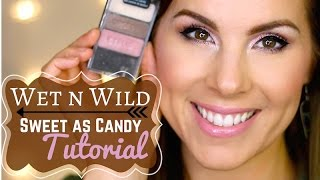 Wet n Wild Sweet as Candy MAKEUP TUTORIAL