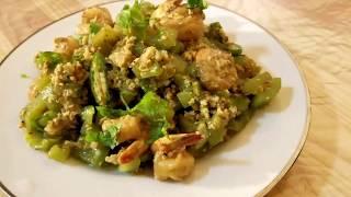 Shrimp vegetable