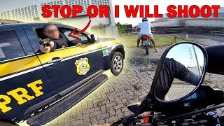 BIKER vs POLICE   COOL & ANGRY COPS    [Episode 79]