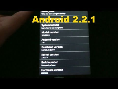 Android 2.2.1 FROYO for Transform!