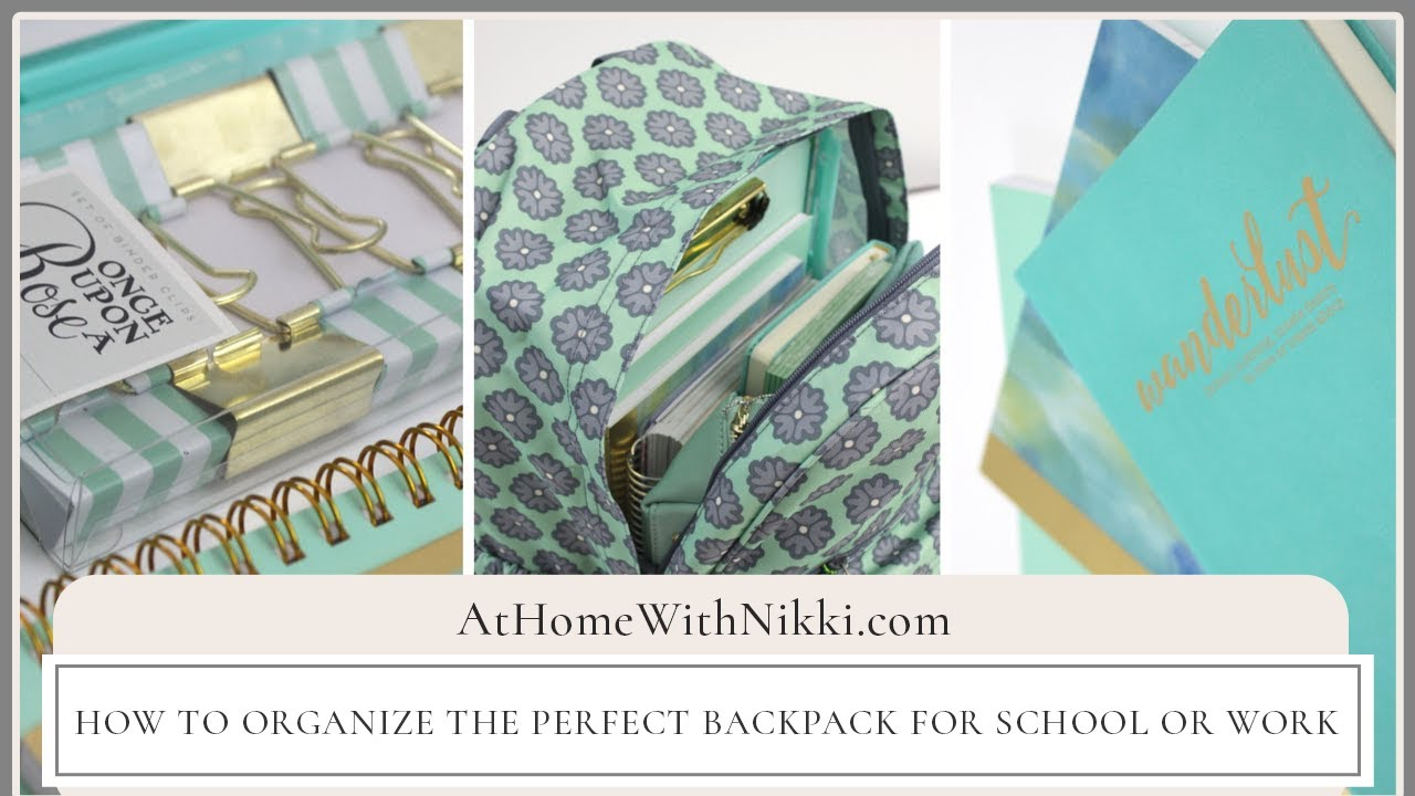 520b826574d How To Organize The Perfect Backpack For School or Workbag PLUS Massive  Giveaway Week
