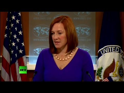 """Do as I say, not as I have done or do?"" State Dept. spokeswoman grilled over CIA torture report"