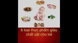 6 loại thực phẩm giàu chất sắt cho bé cưng nhà bạn l Thông Điệp Sức Khỏe