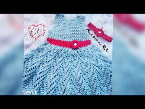 Vestido 2 Anos Em Croche 1partepala