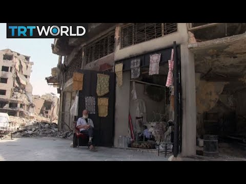 The War in Syria: Rebuilding destroyed Aleppo faces challenges