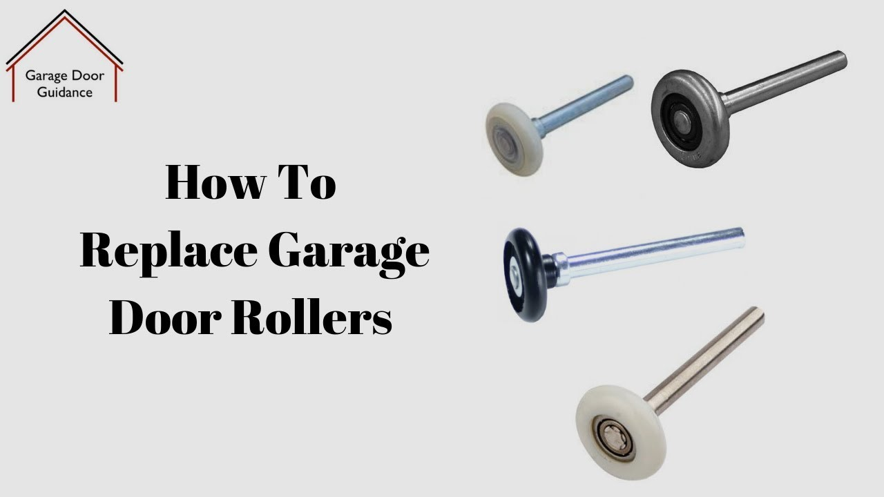 How To Replace Garage Door Rollers Youtube