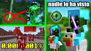 10 Cosas mas Raras que te Puedes Encontrar en Minecraft