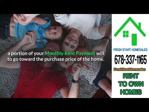 Buying A Rent To Own House Process In Peachtree Corners