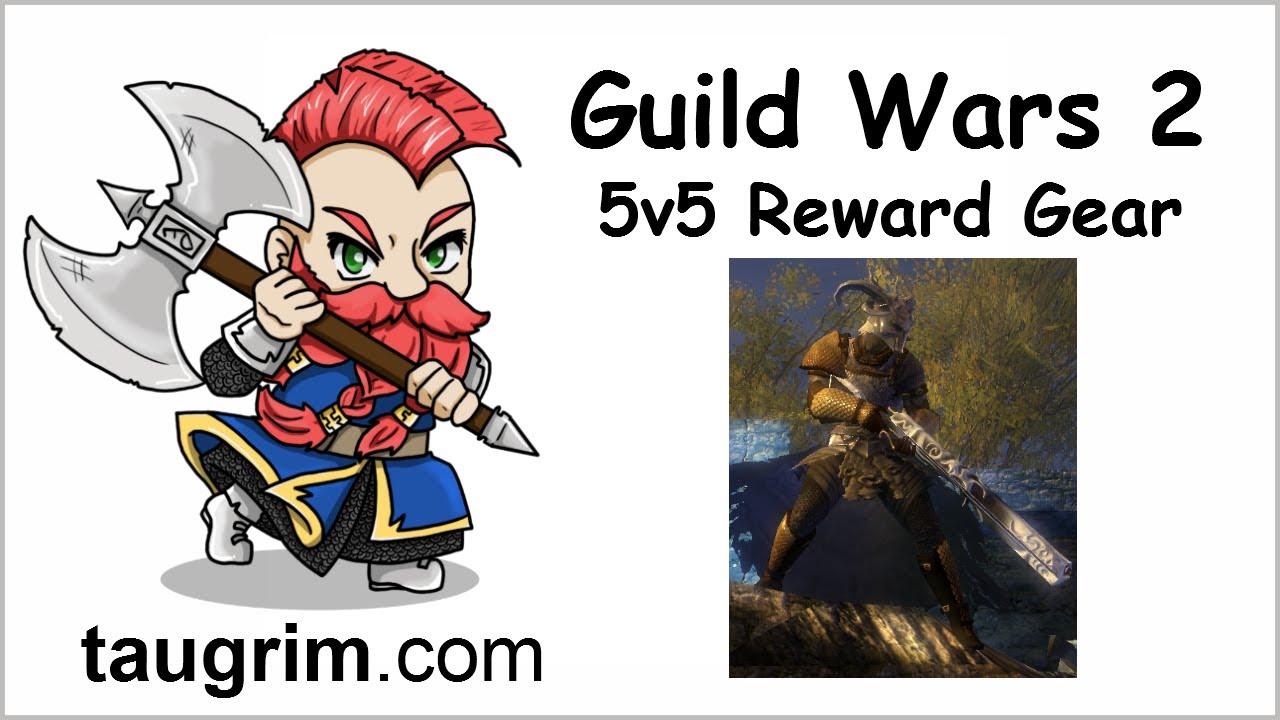Guild Wars 2 PVP Video: Badass Looking Gear, Not Faceroll