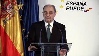 Lambán aboga por reequilibrar la España interior con la del litoral
