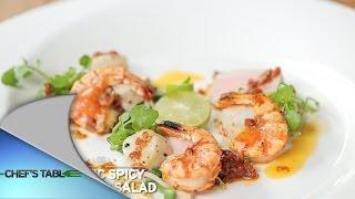 Chefs Table-luna Maya - Exotic Spicy Seafood Salad
