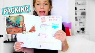 Packing for Vidcon! (New Obsession: Bullet Journals and Gel Pens!) thumbnail