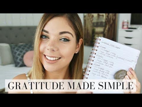 GRATITUDE MADE SIMPLE | LAW OF ATTRACTION | Emma Mumford