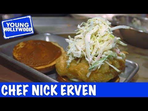 Chef Nick Erven Works Vegan Magic!