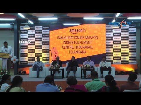 Amazon India's Fulfilment Centre in Hyderabad