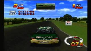 TOCA 2 Touring Car Challenge PS1: Croft