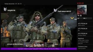 Game show trapalhão  jogando add ps4 Txabaia007 warface