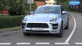 2016 Porsche Macan GTS (360hp) - DRIVE & SOUND (60FPS)