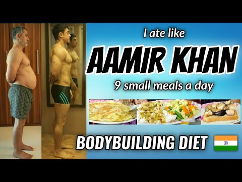 """Download I Tried """" AAMIR KHAN """" diet plan for a day 🇮🇳 