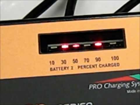 LED Fault Codes on DualPro™ Marine Series Battery Chargers
