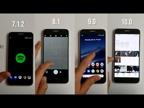 Speed Test Android 10 Vs 9 Vs 8 Vs 7 On Google Pixel XL