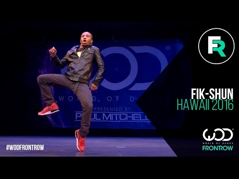 Fik-Shun  FRONTROW  World of Dance Hawaii   WODHI16